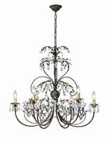 Picture for category Crystorama Lighting 4926-DR Chandeliers Victoria