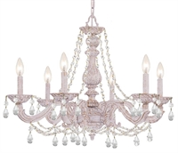 Picture for category Crystorama Lighting 5026-AW-CL-MWP Chandeliers Sutton