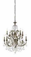 Picture for category Crystorama Lighting 5119-EB-CL-MWP Chandeliers Regis
