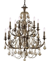 Picture for category Crystorama Lighting 5119-EB-GTS Chandeliers Regis