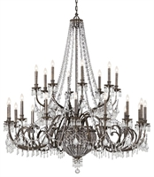 Picture for category Crystorama Lighting 5170-EB-CL-MWP Chandeliers Vanderbilt