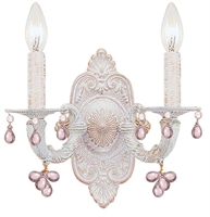 Picture for category Crystorama Lighting 5200-AW-ROSA Wall Lantern Abbie