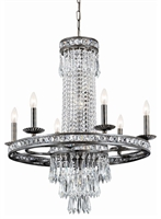 Picture for category Crystorama Lighting 5266-EB-CL-MWP Chandeliers Imperial
