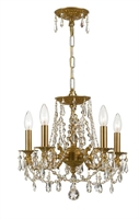 Picture for category Crystorama Lighting 5545-AG-CL-MWP Chandeliers Regis