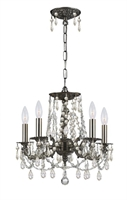 Picture for category Crystorama Lighting 5545-PW-CL-MWP Chandeliers Regis