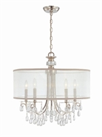 Picture for category Crystorama Lighting 5625-CH Chandeliers Hampton