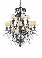 Picture of Crystorama 6710-DR  chandelier