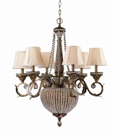 Picture of Crystorama 6726-WP  chandelier