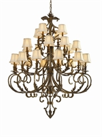 Picture for category Crystorama Lighting 6917-FB Chandeliers