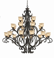 Picture of Crystorama 7418-BU  chandelier