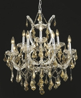 Picture for category Elegant Lighting 2800D27C-GT/RC Chandeliers Maria theresa