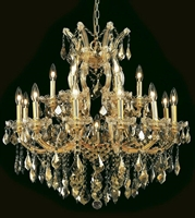 Picture for category Elegant Lighting 2800D30G-GT/RC Chandeliers Maria theresa