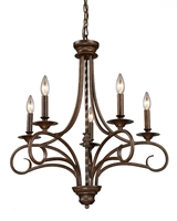 Picture for category Elk Lighting 15042/5 Chandeliers Gloucester