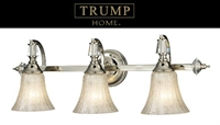 Picture for category Elk 11201/3 Madison avenue Vanity Lighting 28in Polished Nickel 3-light