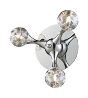 Picture for category Elk 30008/3 Molecular Wall Sconces 9in Polished Chrome 3-light