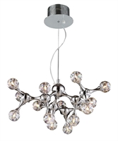 Picture for category Elk 30025/15 Molecular Chandeliers 25in Polished Chrome 15-light
