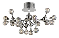 Picture for category Elk 30026/18 Molecular Semi Flush 26in Polished Chrome 18-light