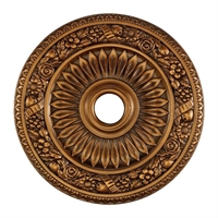 Picture for category Elk M1006AB Floral wreath Ceiling Medallion Lighting