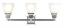 Picture for category Livex Lighting 1033-91 Bath Lighting Mission