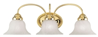 Picture for category Livex Lighting 1533-02 Bath Lighting 24in Polished Brass Steel 3-light