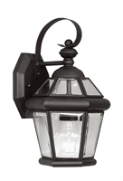 Picture for category Livex 2061-04 Georgetown Outdoor Wall Sconces 7in Black 1-light