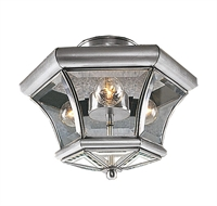 Picture for category Livex 4083-91 Beacon hill Flush Mounts 13in Brushed Nickel 3-light