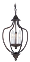 Picture for category Livex 4170-07 Home basics Pendants 10in Bronze 3-light