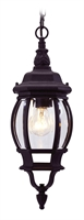 Picture for category Livex 7523-04 Frontenac Outdoor Pendant 7in Black 1-light