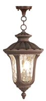 Picture for category Livex 7658-58 Oxford Outdoor Pendant 11in Imperial Bronze 3-light