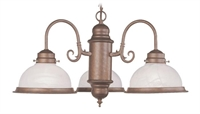 Picture of Livex Lighting 8103-18 Chandelier from the Home basics collection