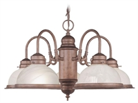 Picture of Livex Lighting 8105-18 Chandelier from the Home basics collection
