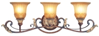 Picture for category Livex Lighting 8553-63 Bath Lighting 30in Resin/Steel 3-light