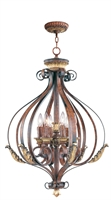 Picture for category Livex 8557-63 Villa verona Chandeliers 24in 6-light