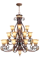 Picture for category Livex 8569-63 Villa verona Chandeliers 50in 22-light