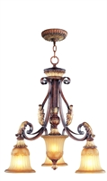 Picture for category Livex 8573-63 Villa verona Chandeliers 24in 3-light