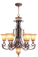 Picture for category Livex 8576-63 Villa verona Chandeliers 30in 6-light