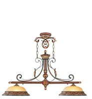 Picture for category Livex 8582-63 Villa verona Island Lighting 13in 2-light