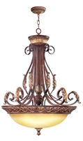 Picture for category Livex 8587-63 Villa verona Mini Pendants 31in 4-light