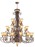 Picture for category Livex 8589-63 Villa verona Chandeliers 60in 24-light