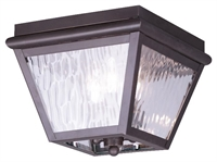 Picture for category Livex Lighting 2029-07 Outdoor Flush Mount Cambridge
