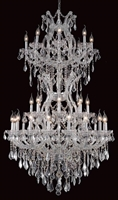 Picture for category Elegant Lighting 2800D36SC/RC Chandeliers Maria theresa