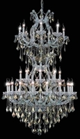Picture for category Elegant Lighting 2800D36SC-GT/RC Chandeliers Maria theresa
