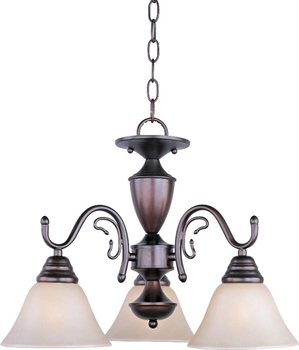 Picture of Maxim Lighting 11061WSOI Mini Chandeliers from the Newport Collection