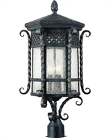 Picture for category Maxim 30121CDCF Scottsdale Outdoor Post Light
