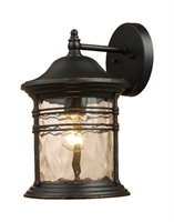 Picture for category Elk 08161-MBG Madison Outdoor Lighting Lamps 7in Matte Black 1-light