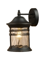 Picture for category Elk 08162-MBG Madison Outdoor Lighting Lamps 9in Matte Black 1-light