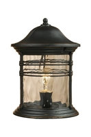 Picture for category Elk 08169-MBG Madison Outdoor Lighting Lamps 9in Matte Black 1-light