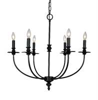 Picture for category Elk 286-OB Hartford Chandeliers 25in Oil Rubbed 6-light