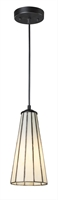 Picture for category Elk 70000-1CW Lumino Pendants 5in Comet White/Matte Black 1-light