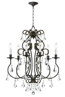 Picture for category Crystorama Lighting 5016-EB-CL-MWP Chandeliers Ashton